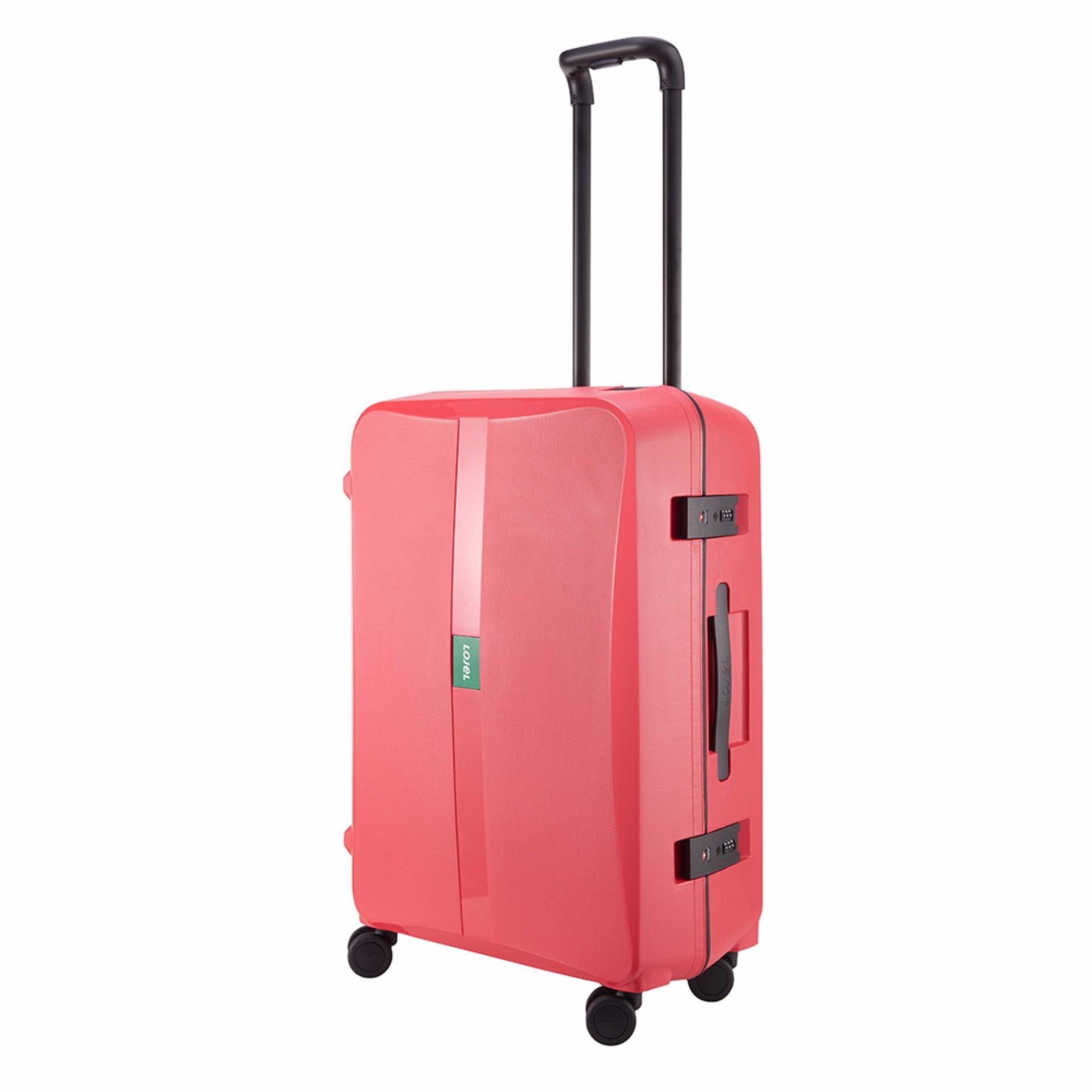 Lojel Octa 02 Koper Hard Case Large/30 inch [Raspberry]